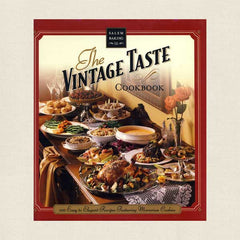 The Vintage Taste Cookbook from the Salem Baking Company