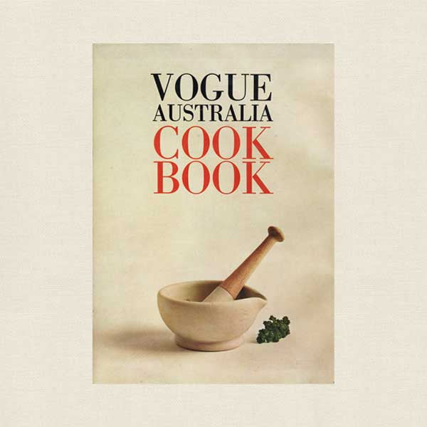 Vogue Australia Cookbook - 1969