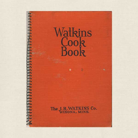 Watkins Cook Book - Vintage Cookbook 1936