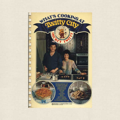 What's Cooking at Twitty City Cookbook - Wife of Conway Twitty