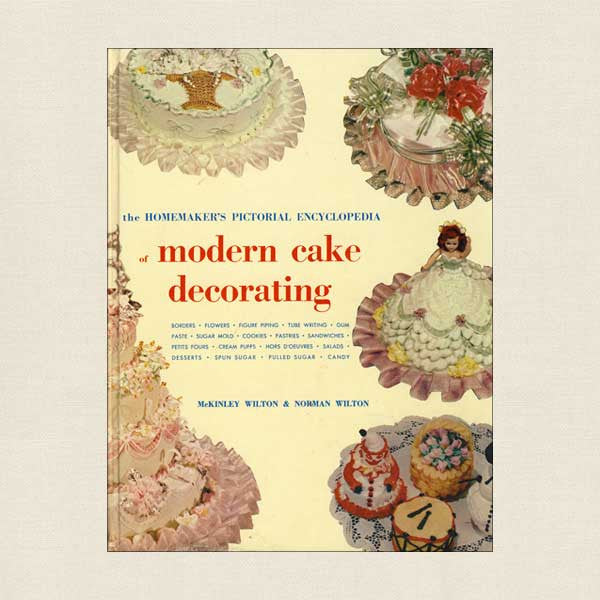 Wilton Modern Cake Decorating Book