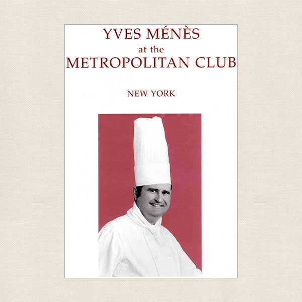 Yves Menes at the Metropolitan Club, New York