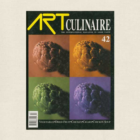 Art Culinaire Magazine No. 42 Cookbook