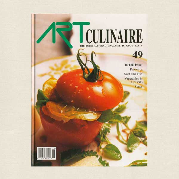 Art Culinaire Magazine 49 Cookbook