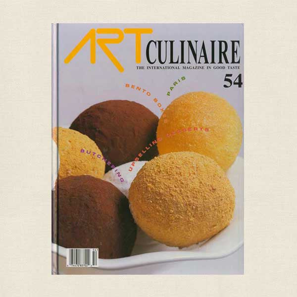 Art Culinaire Magazine No. 54 Cookbook