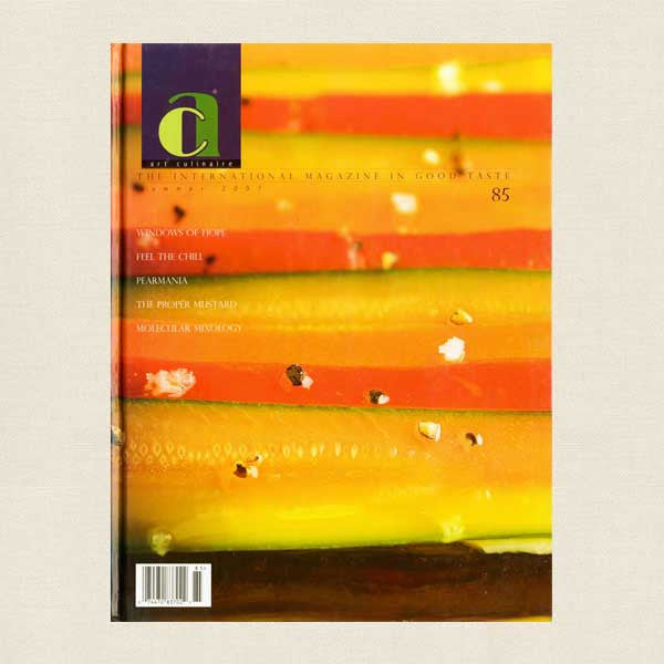 Art Culinaire Magazine No. 85 Cookbook