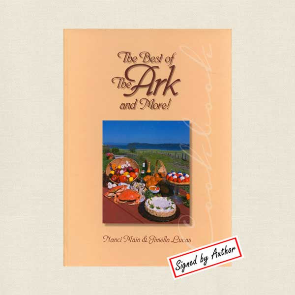 Best of Ark and More Restaurant Cookbook - Signed
