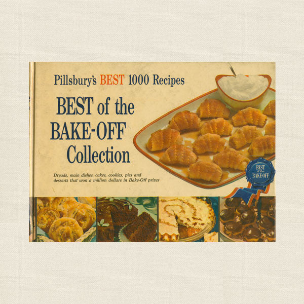 Best of the Pillsbury Bake-Off Collection - 1959 Vintage Cookbook