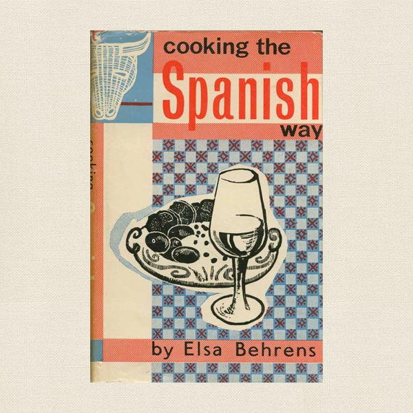 Cooking the Spanish Way Cookbook - Vintage