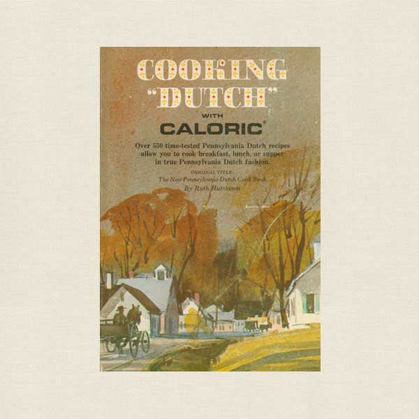 Cooking Dutch with Caloric Cookbook