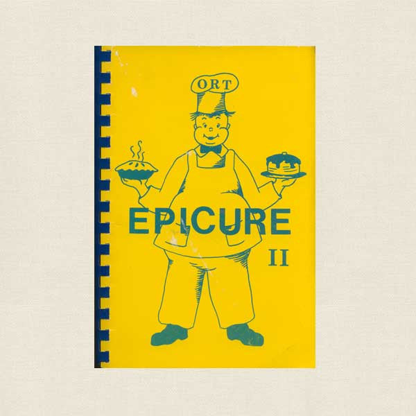 Epicure II Cookbook - Women's American ORT Connecticut River Valley