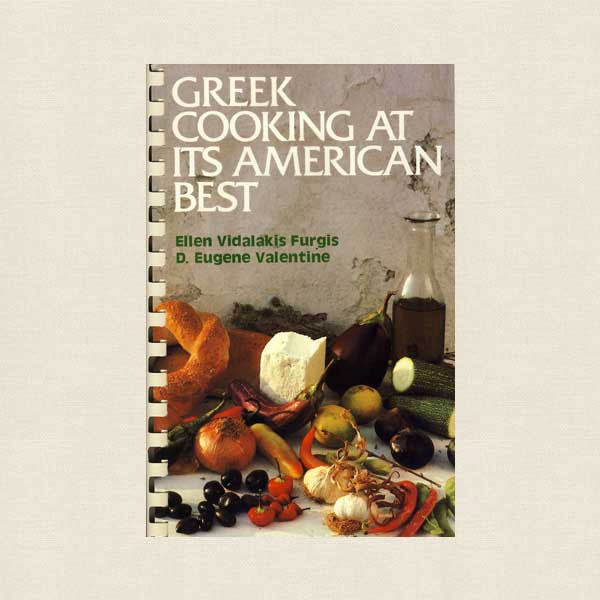 Greek Cooking at Its American Best Cookbook