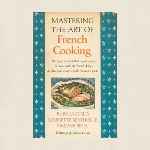 Mastering the Art of French Cooking Cookbook - Julia Child Rare Book Club Edition