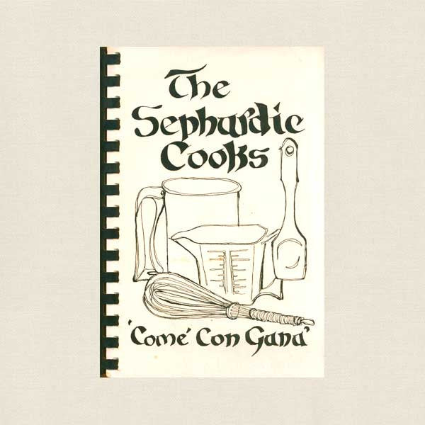 The Sephardic Cooks Cookbook - Congregation Or VeShalom Temple