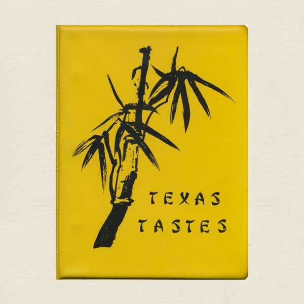 Texas Tastes Cookbook - Dallas Chapter of Ikebana International