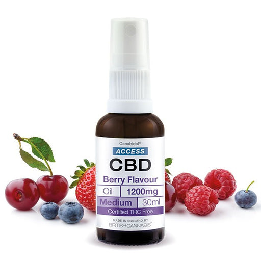 Canabidol Access CBD Berry Flavour Oil 30ml