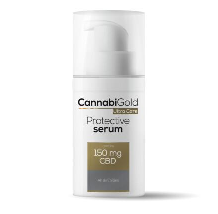 CannabiGold Ultra Care Protective Serum All Skin Types 30ml 150mg