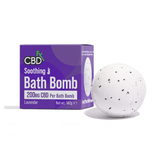 CBD +FX Soothing Bath Bomb 200mg 142g