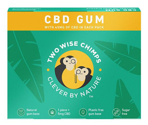 Two Wise Chimps Clever By Nature CBD Gum
