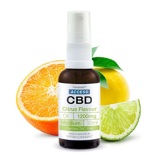 Canabidol Access CBD Citrus Flavour Oil 30ml