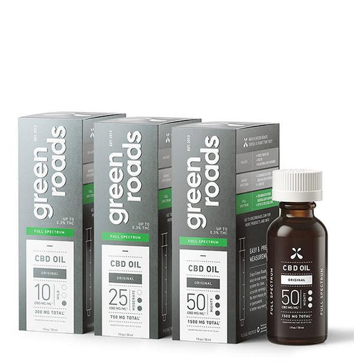 Green Roads Full Spectrum CBD Oil Original 30ml