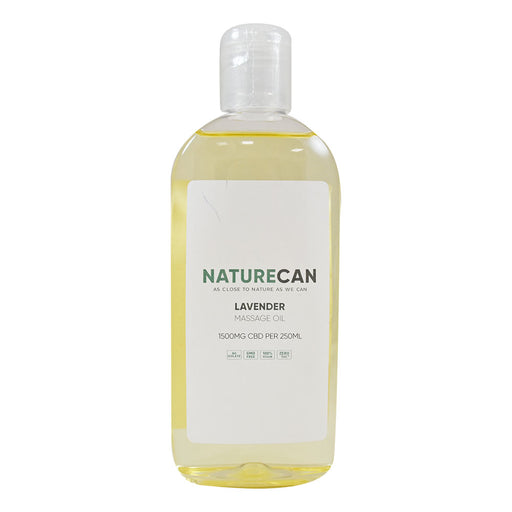 Naturecan Massage Oil Lavender 1500mg 250ml