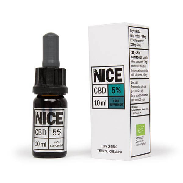 MR NICE Organic CBD Oil 10ml