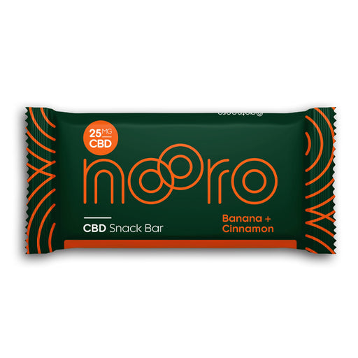 Nooro CBD Raw+Vegan Snack Bar 25mg 1pcs
