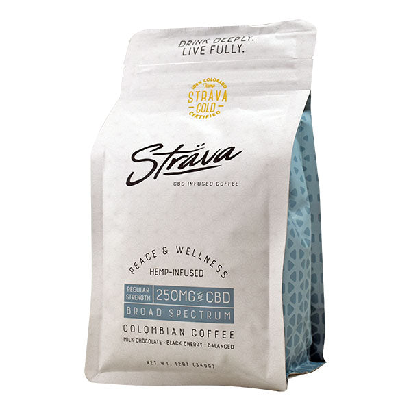Strava CBD Infused Colombian Coffee 340g