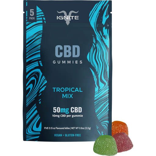 Ignite CBD Gummies Tropical Mix