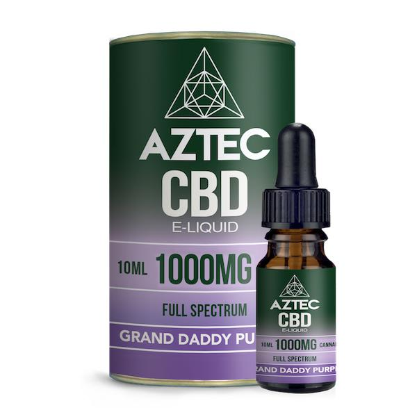 Aztec CBD Grand Daddy Purple