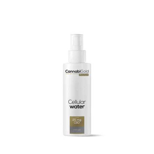 CannabiGold Ultra Care Cellular Water All Skin Types 125ml 25mg