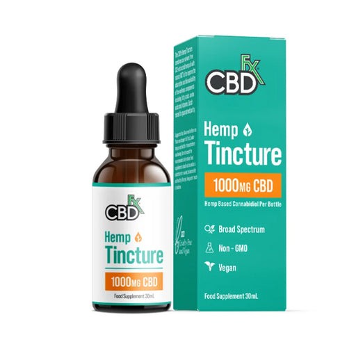 CBD +FX Hemp MCT Oil Tincture 1000 Series