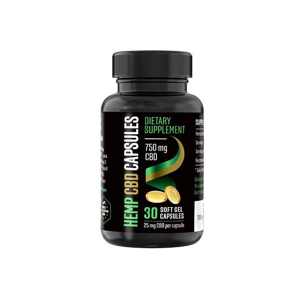 Reakiro Hemp CBD Soft Gel Capsules 30ct