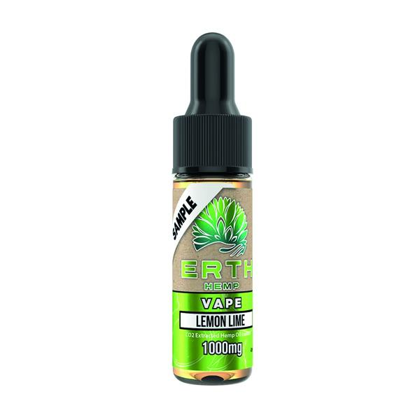 Erth Hemp Sample Size 1000mg 4ml