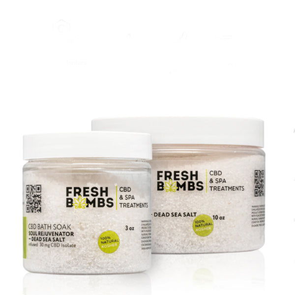 Fresh Bombs CBD Bath Soak Soul Rejuvenator