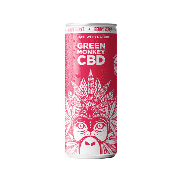 Green Monkey CBD Berry Burst Drink 250ml