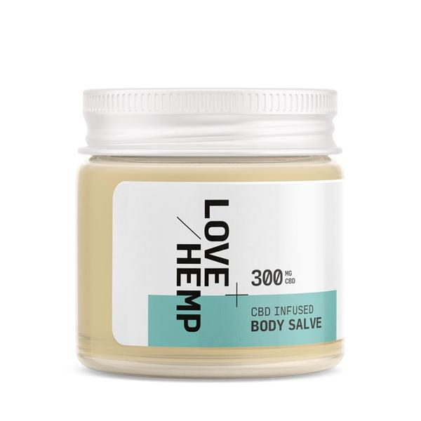 LOVE HEMP CBD Body Salve 300mg 50ml