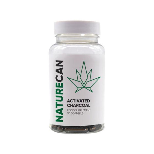 Naturecan Activated Charcoal Food Supplement 90 capsules