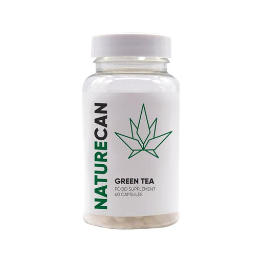 Naturecan Green Tea Food Supplement 60 capsules