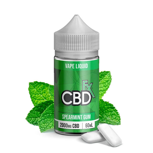 CBD +FX Vape Series Spearmint Gum 60ml