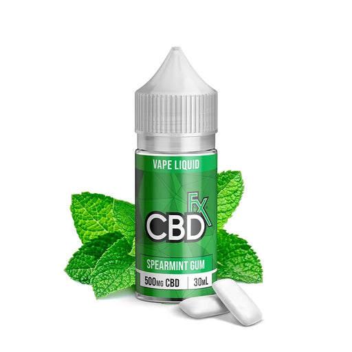 CBD +FX Vape Series Spearmint Gum 30ml