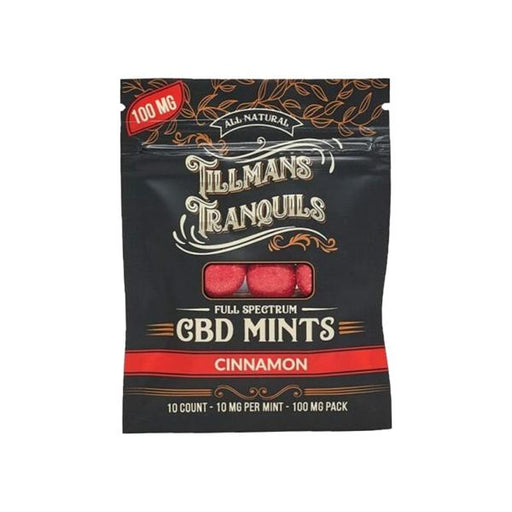 Tillmans Tranquils CBD Mints - 10 mg (100 mg per pack)
