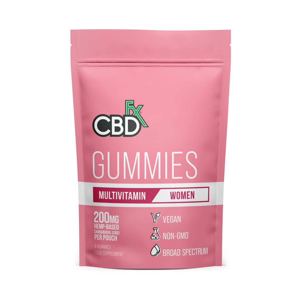 CBD +FX Multivitamin Gummies Women 200mg 8 gummies