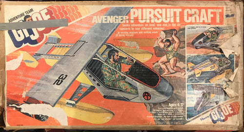 GI Joe 1976 Avenger Pursuit Craft Complete with Box ***AVAILABLE IN STORE ONLY***