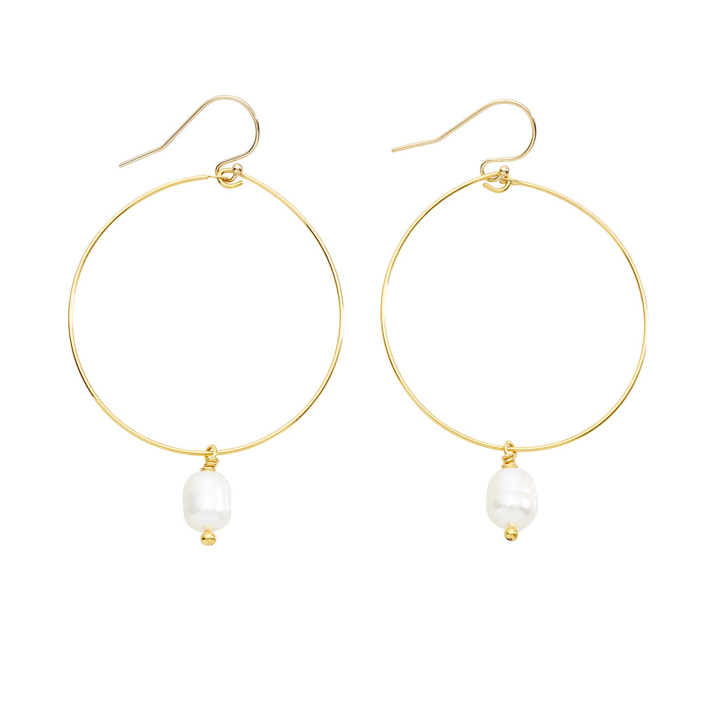 DROP OF FAITH EARRINGS - GOLD