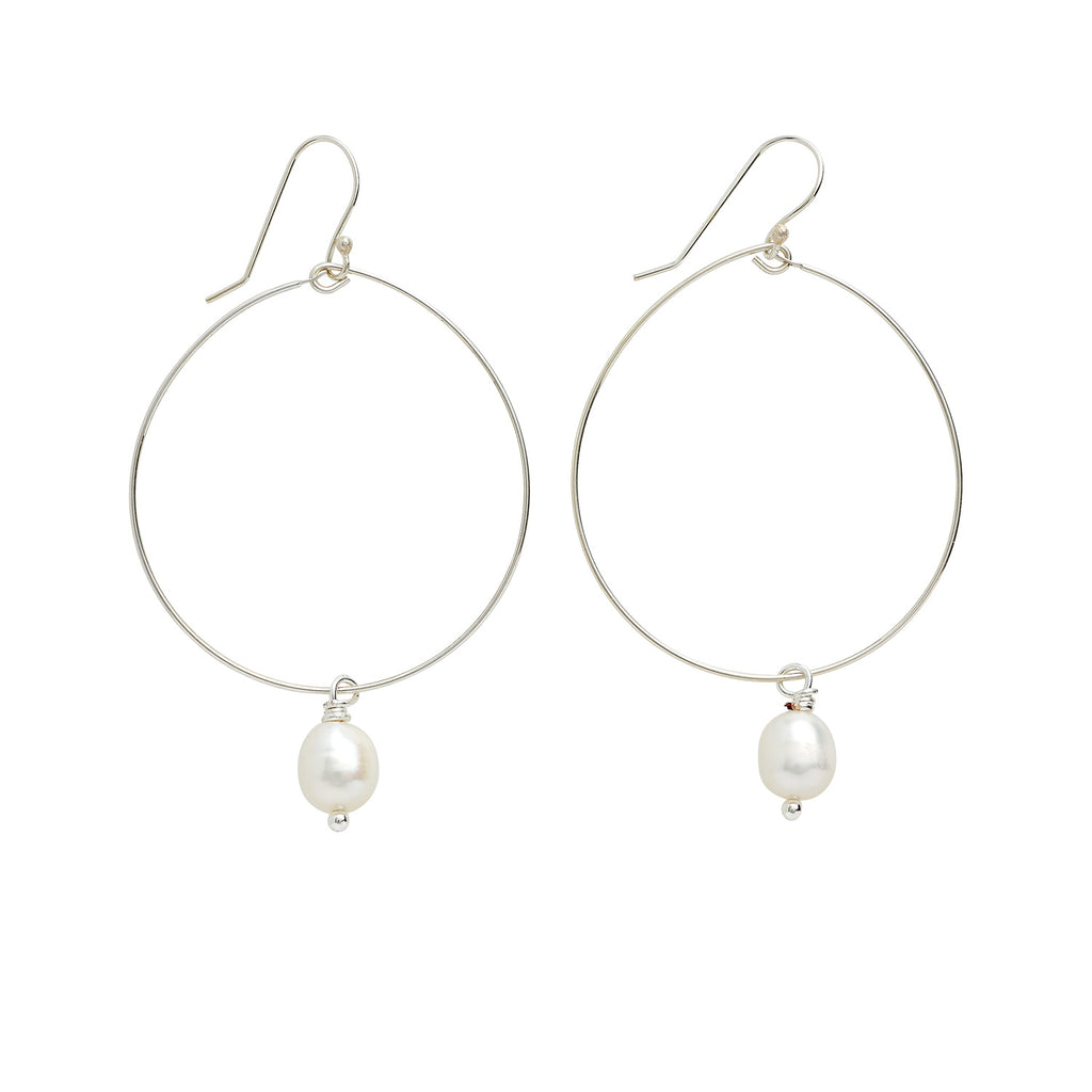 DROP OF FAITH EARRINGS - SILVER