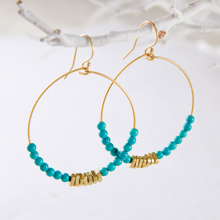 PURE & SIMPLE EARRINGS- GOLD