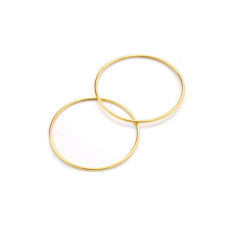 INFINITY HOOPS - GOLD