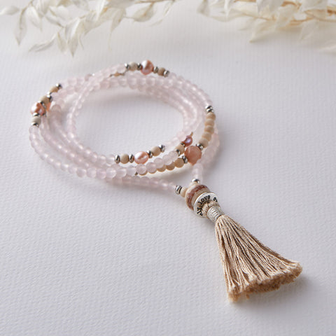 OPEN HEART MINI MALA